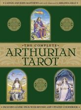The Complete Arthurian Tarot Collector's Edition Cards Deck & Guide Book Set