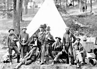 Civil War Photo-Army of the Potomac Scouts & Guides-Berlin, Maryland-1862