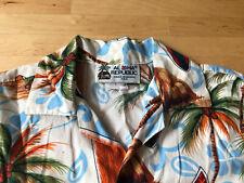 Aloha Republic Children Hawaiian Shirt, Surfboard, Palm Trees 100% Cotton, Sz 3T