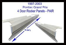 1997-03 PONTIAC GRAND PRIX 4DR OUTER ROCKER PANELS NEW PAIR !