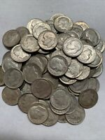 1946-1964 Roosevelt Silver Dimes 90% SILVER (Lot of 10) Guaranteed 40s!