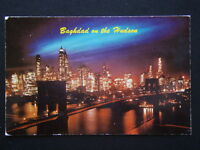 The City of Cities Baghdad on the Hudson 1972 Postcard (P234)