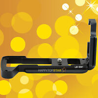 Quick Release Plate L-Bracket Tripod Mount RRS Camera Grip for Olympus OM-D E-M1