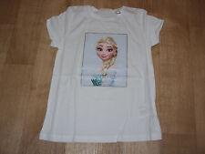 Mädchen - T-Shirt - Eiskönigin - Elsa - weiß- Gr. 134/140 - H&M - NEU!!
