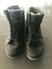 Day Five Mens Boots Side Zip Size 11 Like New Brown