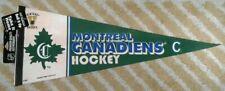 Montreal Canadiens Montréal Full Size NHL hockey Pennant soft felt