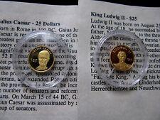 Worlds Smallest Gold Coins, Liberia MiniGold24K Pure Gold Coins .73 Gram &COA.