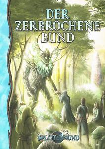 Splittermond: Der zerbrochene Bund (Abenteuerband), Rollenspiel, Fantasy, NEU