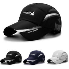 Quick Dry Waterproof Men Sport Duck Tongue Sun Hat Outdoor Space Baseball cap