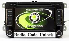 SKODA radio code decode fast service unlock