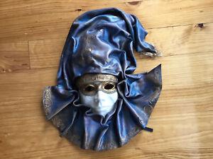 Venetian Leather Full Masquerade Mask Leather