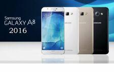 "New in Sealed Box Samsung Galaxy A8 2016 DUAL 32GB 5.7"" Unlocked Smartphone"