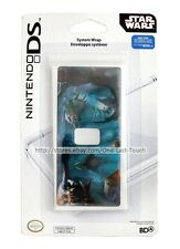 STAR WARS Force Unleashed SYSTEM WRAP/SKIN For Nintendo DS Lite TEAL (Carded)