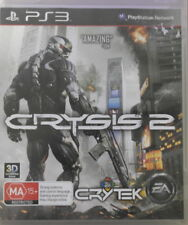 Sony PlayStation 3 PS3 Crysis 2 Game Rated MA PAL Includes Manual