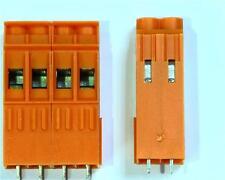 5 x Weidmuller 2 Way Pcb Connettore, ad incastro, 500V 32 bis per 0,5 - 6 mm ² Cavo