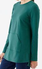 J.Jill  Pure Jill Tunic Shirt   3X   NWT    Relaxed Knit tunic  Green
