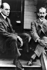 New 5x7 Photo: Wright Brothers, Orville and Wilbur - Aviation Flight Pioneers