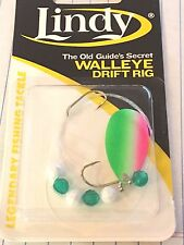 "LINDY, WALLEYE DRIFT RIG, TROUT, 36"" HAND TIED, GS109, WORMS/MINNOWS"