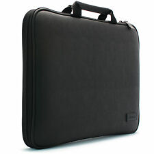 "BN 14"" 14.1"" Laptop Case Sleeve Memory Foam Protection Bag Synthetic Leather SL"