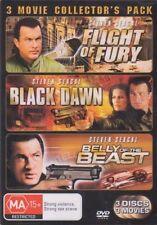 Flight of Fury Black Dawn Belly of The Beast DVD Ships From Aus Zz4 Bo21