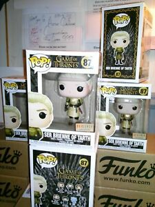 Funko Pop*FREE Protector* Game Of Thrones SER BRIENNE OF TARTH #87 BoxLunch Excl