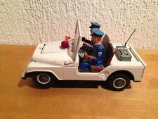 TN Nomura Japan Blechspielzeug Patrol Jeep Polizei Police 00753 Auto