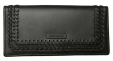 New In Box Billabong Classic Black Womens Girls Leather Wallet / Purse Black