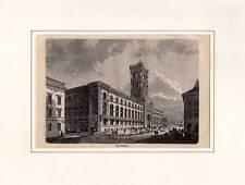 Berlin - Rathaus - Holzstich um 1880