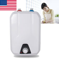 8L Electric Tankless Hot Water Heater Home Kitchen Bathroom Warm washing FDA