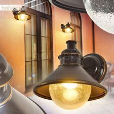 Extérieur Mur Lampes Verre dépoli terrasses Jardin Véranda Cour lampes en laiton-Or