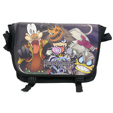 "Kingdom Hearts 14"" Messenger Bag - HALLOWEEN TOWN New Sora (Bookbag Satchel)"