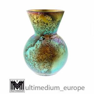 Kleine WMF Myra Glas Vase petrolfarben irisierend 🌺🌺🌺🌺🌺