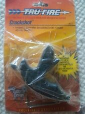 Tru Fire Crackshot Patented Butterfly Design Reduces Torque At Full Draw Open.