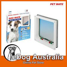 Premium Cat Mate Pet Door - Large Cat Small Dog Door Flap White-top quality