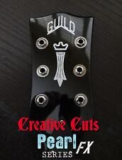 Guild Chesterfield logo MOP Guitar Headstock Logo Vinyl Sticker Decal