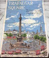 Trafalgar Square by Lamont Ireland Linen print Fast Colours Art