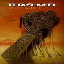 Threshold-extinct Instinct CD 14 tracks hard & heavy/progressive metal nuovo