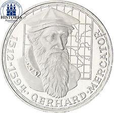 Unzirkulierte 5 DM Münzen der BRD (1951-1974) aus Silber