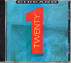 CD Chicago ‎– Twenty 1 1991 album US pressing