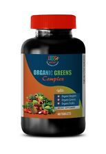 detoxifying supplement - ORGANIC GREENS COMPLEX - all day energy booster 1B