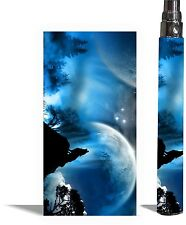 Battery Sticker Skin Fits eGo/Vision/Other Type Vape Cover Decal Wrap-MOONLIGHT