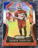 DARWIN THOMPSON #400 2019 Panini Prizm RED WHITE BLUE PRIZM RC CHIEFS