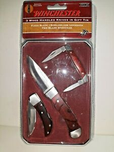 Winchester 3 piece knife gift set Limited edition