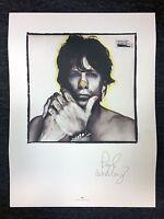 "Original Paul Westerberg / The Replacements Rare Lithograph Poster RARE! 18""x24"""