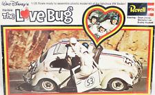 REVELL Disney's Herbie The Love Bug Vintage Unbuilt Plastic Model Kit 1968