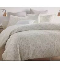 Dkny Motion Oatmeal King Comforter Cover Silver & Two Stand. /Queen Shams!