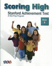 NEW - Scoring High: Stanford Achievement Test. Book 5