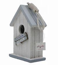 Shabby Chic Nautical Style Bird House / Bird Box - Beach (5813)