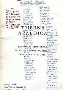 TRIBUNA ARALDICA ANNO XXV N. 2  LUGLIO-DICEMBRE 1984