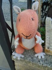 New Hand Knitted Squirrel Nutkin Soft Toy